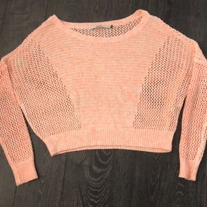 Tops - Only peach crop sweater